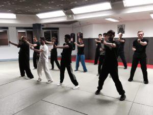 style Wingchun, enseigné par maître Sun Fa à l'Académie TIAN LONG, Lyon1