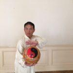 posture Tai Ji ballon